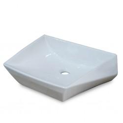 Diplomat Above Counter W.Basin Porcelain Kite White 1209