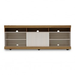 Dili Low TV Cabinet Oak Noble/Off White