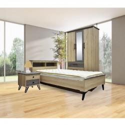 Vince Bedroom Set 107x190 cm PB