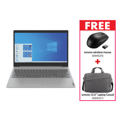 "Lenovo IdeaPad S300 Series  CORE_I5-1135G7 & Free Lenovo Wireless mouse + Free Lenovo 15.6"" Laptop Casual Toploader T210 (Grey)"