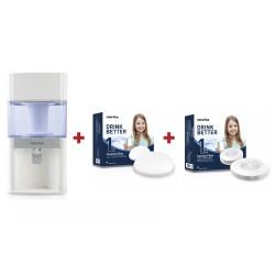 Novita NP6610 Portable Water Purifier + Novita Ceramic 1 Year Replacement Filter + Novita Cormac 1 Year Replacement Filter