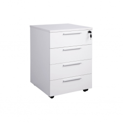 Pedestal With 4 Drawers