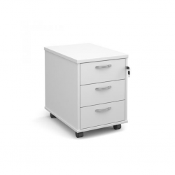 Pedestal With 3 Drawers Low Mobile with 3 Drawers