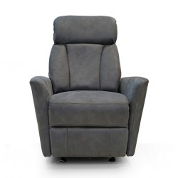 Glide One Seater D.Grey Fabric