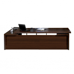 Executive Desk With 4 Drawers & Central Lock