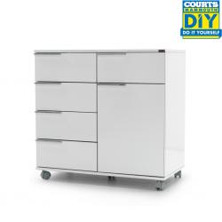 Diamond Multipurpose Mobile Cabinet W/5 Drwrs Plus