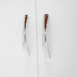 Bodrum Wardrobe W/3 Doors White