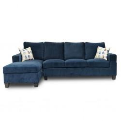 Union Park Corner RHF Sofa+LHF Chaise Oakley
