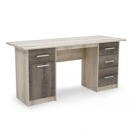 Lugano Office Table PB Castillo Oak