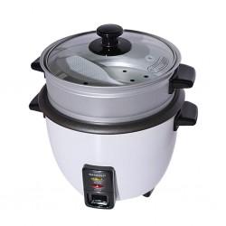 "Sharp KS-H108G-W3 1L 2YW Rice Cooker W/Steamer ""O"""