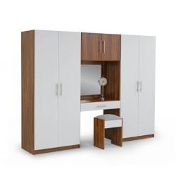 Arden Wardrobe 4 Doors + Dressing Table