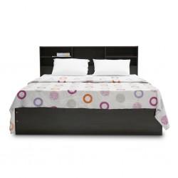 Rio Bed 150x190 cm MDF Wengue