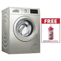 Bosch WAJ2017SKE Washing Machine & Free Spark  Softener