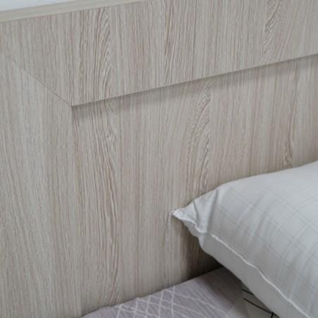 Melody Bed 107x190 cm MDF Oak
