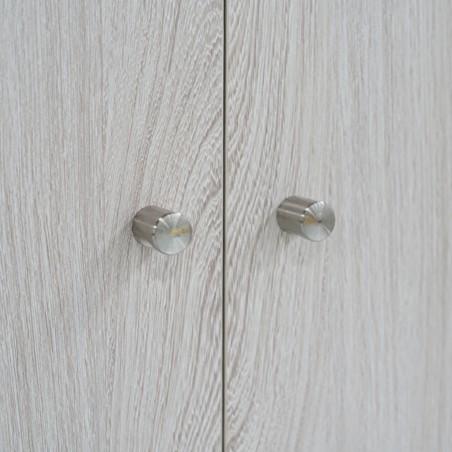 Melody Wardrobe 2 Doors MDF Oak