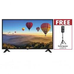 "Blaupunkt BP6502 65'' UHD Smart TV & Free Rocka 6"" Dual speaker with stand"