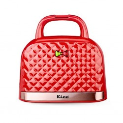 Rico TS1904 Red Toaster Sandwich Maker