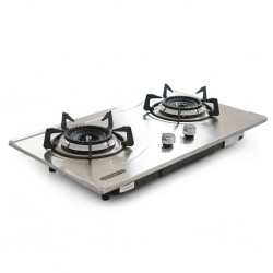Concetto CG-22082 Built In S/Steel Double Burner