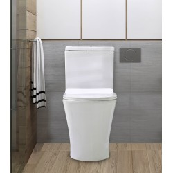 Dura closed coupled , WC SWSONSA-2020W Color White D:640*380*800mm