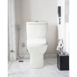 Dura Closed Coupled WC Color White SWSONSA-2599W