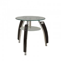 Napal Side Table Chrome...