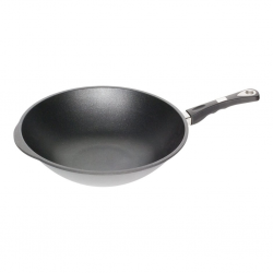 """AMT Gastroguss 1136S-E 36cm Wok With Exclusive Handle """"O"""""""