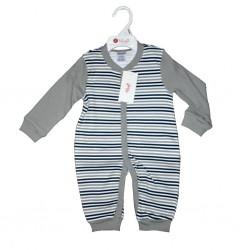Long Sleeve Body Suit Gray 6-12 mths LI5750