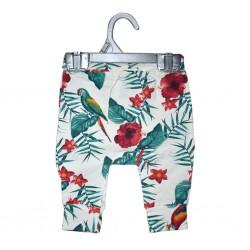Pant All Over Printed Island Flowers 0-3mths LI5775-FL