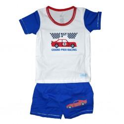 Boy Solid Short Sleeve T-Shirt 12-18 mths Grand Prix Racing LI-5362(GPR)