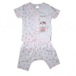 Short Sleeve T-Shirt & Pant Feather Free Size LI-9242(FEA)