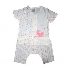 Short Sleeve T-Shirt & Pant Elephant Free Size LI-9242(ELE)