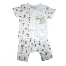 Short Sleeve T-Shirt & Pant Moon Free Size LI-9242(MOO)