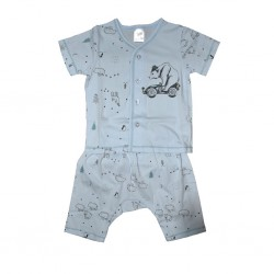 Short Sleeve T-Shirt & Pant Bear Free Size LI-9242(BEA)