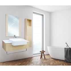 Peyton Bathroom Furniture 70116 Light Marron
