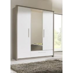 Gami Faro Wardrobe 3 doors Ash Particle Board