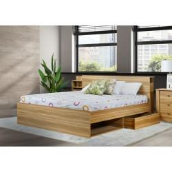 Florida Bed 160x200 cm Carvalho Naturale P.Board