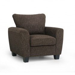 Palm Spring Accent Chair in Fabric BNZ TC Java col