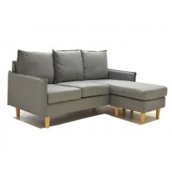 Modena L Sofa Reversible Angle L.Grey