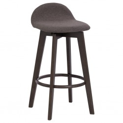Mora Bar Chair Dark Chestnut/Chestnut Color