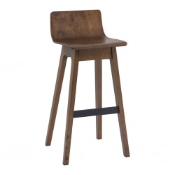 Ava Lowback Bar Chair Cocoa Color