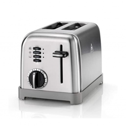 """Cuisinart CPT160E 3YW Metal Classic 2 Slice Toaster """"O"""""""