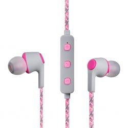 Volkano Moda-Nylon Bluetooth Earphones VK-1107-PK