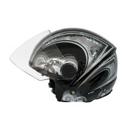 Studds Track D1 Black N4 06981 Helmet