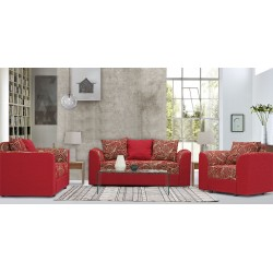 Blaydon Sofa 3+2+1 Fabric Burgundy