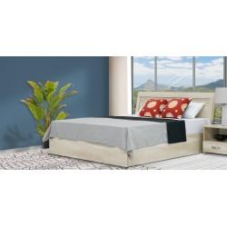 Magnum Bed 150x190 cm Tropical Ash MDF