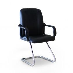 Sanora Visitors Chair Semi Leather Model Saphire 04