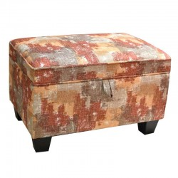 Carbini Ottoman in Fabric