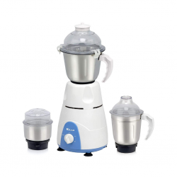 """Rico RIC064-MG124 WH/Blue 650W Mixer Grinder 3YW on Motor """"O"""""""