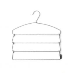 "Brabantia 110764 Dark Grey Soft Touch Trouser Hanger 2YW ""O"""