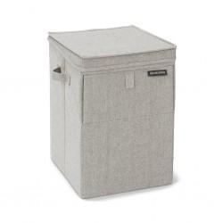 "Brabantia 120428 35L Grey Stackable Laundry Box 2YW ""O"""